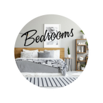 tidy and clean bedroom