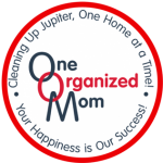 One Organized Mom House Cleaning Logo